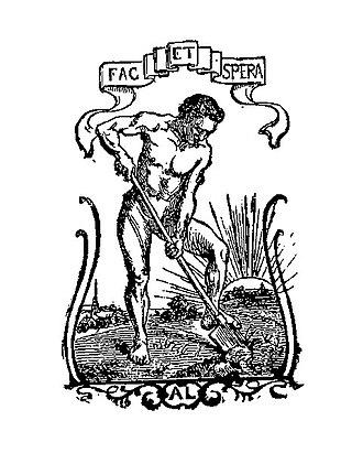 Alphonse Lemerre - Alphonse Lemerre's publisher's mark