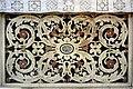 Marqueterie de marbre Décor d'autel chapelle intérieure Cathédrale Sainte Réparate Nice.jpg
