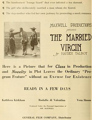The Married Virgin - Image: Married Virgin ad
