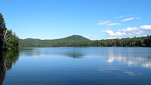 Cabot, Vermont - Molly's Falls Pond in Cabot