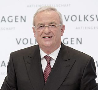 Chairman of Volkswagen AG
