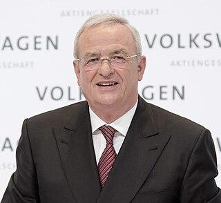 Former Chairman of Volkswagen AG