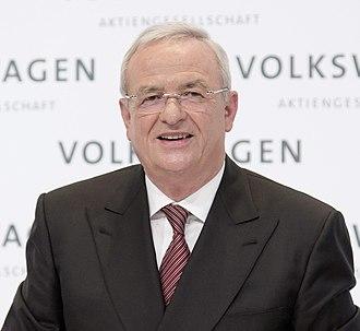 Volkswagen emissions scandal - Former Volkswagen AG CEO Martin Winterkorn in March 2015