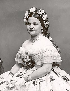 Mary Todd Lincoln Wife of Abraham Lincoln and First Lady of the United States
