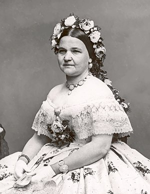 China service of the Lincoln administration - Mary Todd Lincoln in 1861