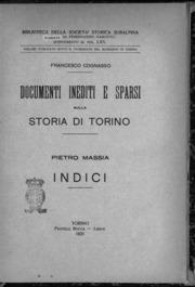 Massia - Documenti inediti e sparsi sulla storia di Torino. Indici, 1931 - 1170844