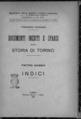 Massia - Documenti inediti e sparsi sulla storia di Torino. Indici, 1931 - 1170844.tif