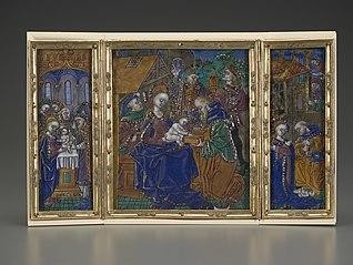 Triptych: Circumcision, Epiphany, Nativity