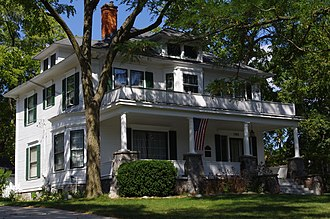 National Register of Historic Places listings in Kent County, Michigan - Image: Mathias Alten House and Studio 1