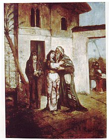 Maurycy Gottlieb - Recha Welcoming Her Father - 1877.jpg