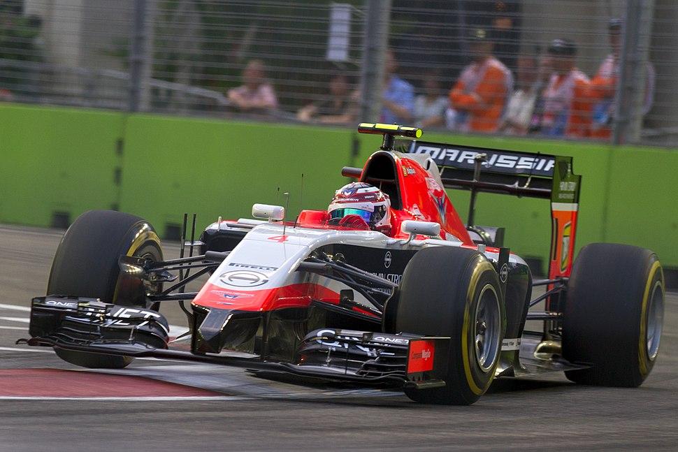 Max Chilton 2014 Singapore FP1