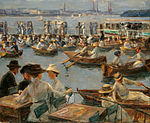Max Liebermann - On the Alster in Hamburg - Google Art Project.jpg