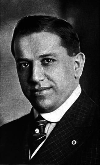 Cleveland Rosenblums - Team owner Max Rosenblum, c. 1918