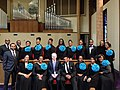 Mayor Murray poses with the immensely talented and inspiring Gospel Works Chorale at Mt. Zion Baptist Church (12063009336).jpg