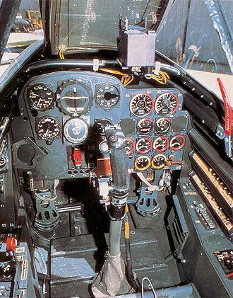 Messerschmitt Me 262 - Me 262 cockpit