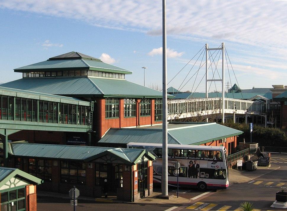 Meadowhall - Interchange and Don Footbridge