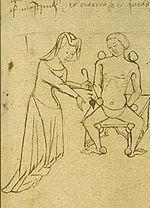 Ancienne pratique médicale utilisant la scarification.