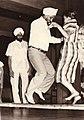 Meharban Singh dancing. Nairobi. 1968.jpg