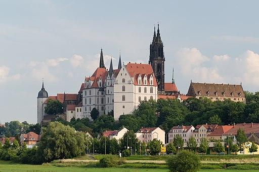 Meißen, Albrechtsburg, Meißener Dom (Sachsen) Juni 15-005