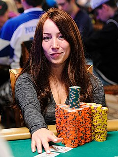 Melanie Weisner American poker player