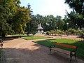 Memorial to Heroes. Park. - Hősök Sq., Nagykőrös, Hungary.JPG