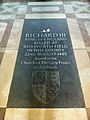 Memorial to King Richard III of England in Leicester Cathedral.jpg
