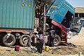 Men were maintaining the lorry.jpg
