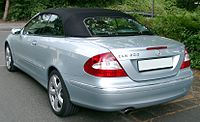Mercedes-Benz A209 rear 20080620.jpg