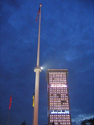 Merdeka Square, Kuala Lumpur - Image: Merdeka Square Flagpole
