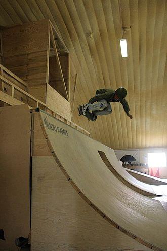 Skateboarding - Skateboarder at Skateistan in Kabul, Afghanistan