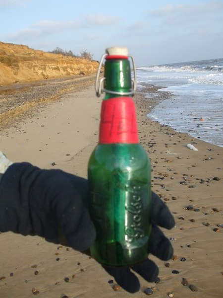 File:Message in a bottle - geograph.org.uk - 1095870.jpg
