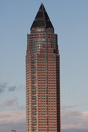 1991 in architecture - Messeturm, Frankfurt