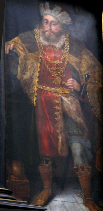 Mestwin I, Duke of Pomerania - Hermann Hahn: Mestwin I of Pomerania, about 1620