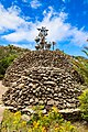 Metal sculpture at Mirador César Manrique observation deck in Valle Gran Rey on La Gomera, Spain (48293724151).jpg