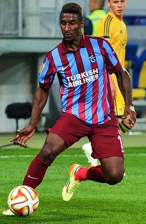 Kévin Constant - Constant with Trabzonspor in 2014