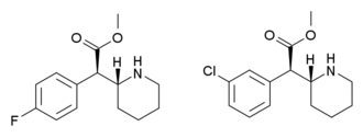 4-Methylmethylphenidate - 4-fluoromethylphenidate (4-FTMP) and 3-chloromethylphenidate (3-CTMP)