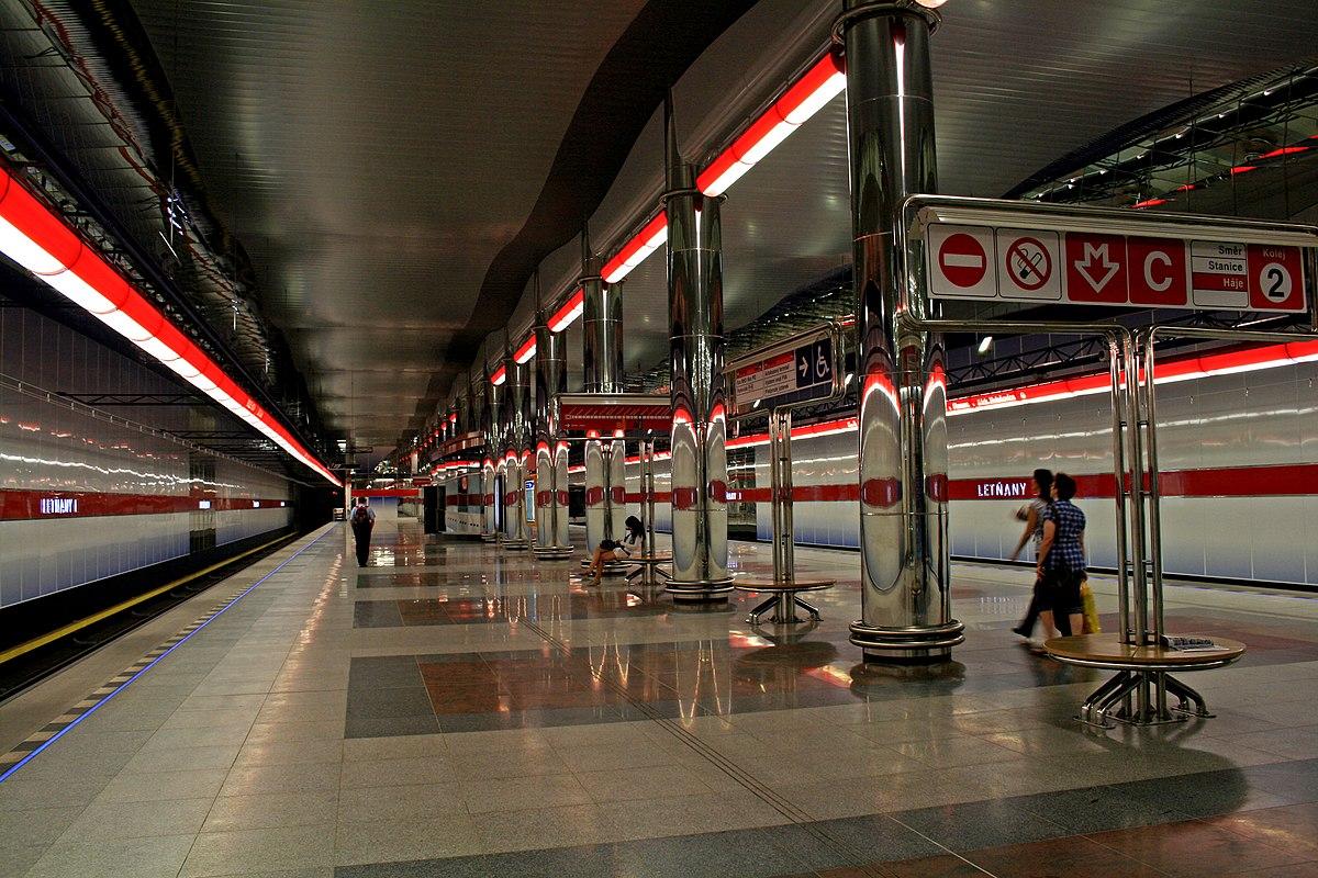 let�any prague metro wikipedia