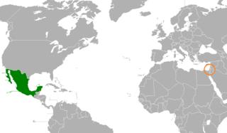 Mexico–Palestine relations