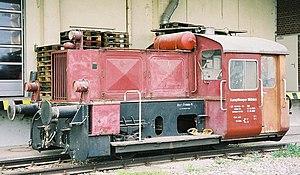 Kleinlokomotive - Köf II of Kampffmeyer Mühlen at Mannheim
