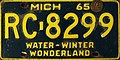 Michigan 1965 license plate.jpg