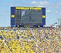 Michigan Stadium 2011 (scoreboard).jpg