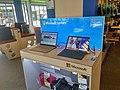 Microsoft Surfaces on display inside of a NoRRaD.nl shop, Groningen (2018).jpg