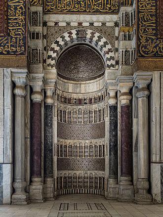 Qalawun complex - Mihrab of Qalawun complex