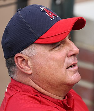 Mike Scioscia - Scioscia with the Los Angeles Angels
