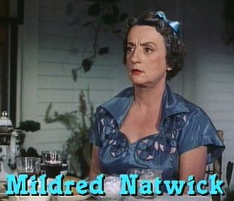 Mildred Natwick - Natwick in the film The Trouble with Harry in 1955