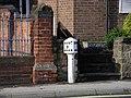 Milepost on Duffield Road, Allestree - geograph.org.uk - 80316.jpg
