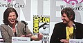 Milla Jovovich & Paul Anderson at WonderCon 2010 1.JPG