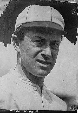 Miller Huggins - Huggins with the St. Louis Cardinals in 1912