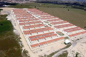 Public housing - Social housing in Eunápolis, Brazil