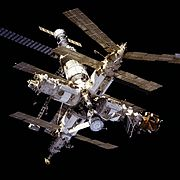 Mir from STS-81
